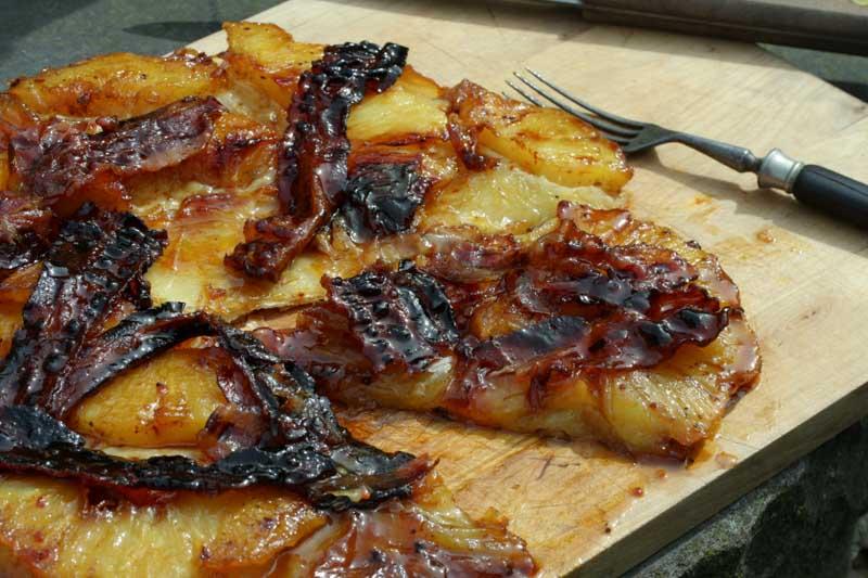 Ananas Tarte Upside Down
