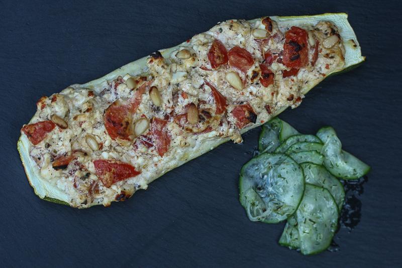 Gefüllte Zucchini (004 von 005)