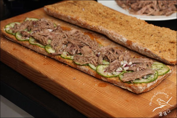 Worcestershire Beef Brot