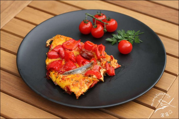 Chorizo Omelett